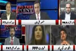 To The Point (Nawaz Sharif Na Ahle Ke Bawajood Sargarm) – 30th December 2017