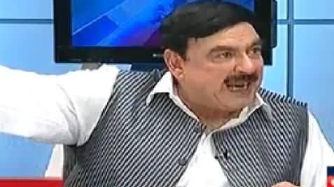 To The Point (Sheikh Rasheed Ahmad Exclusive Interview) – 14th April 2014