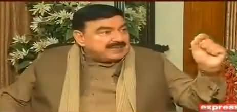 To The Point (Sheikh Rasheed Ahmad Exclusive Interview) - 17th November 2017