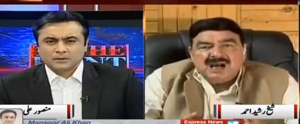 To The Point (Sheikh Rasheed Ahmad Exclusive Interview) - 26th May 2017