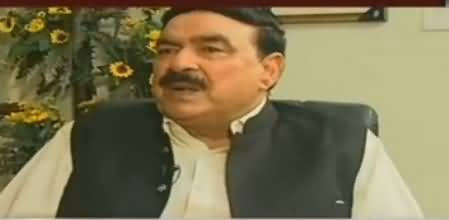 To The Point (Sheikh Rasheed Ahmad Exclusive Interview) - 8th July 2017