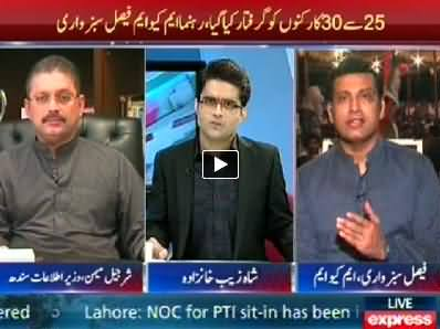 To The Point (Who is Responsible For the Arrest of MQM Workers) – 25th September 2014