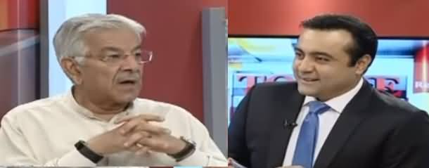 To The Point With Mansoor Ali Khan (Khawaja Asif Exclusive Interview) - 3rd August 2019