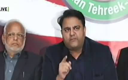 Tomorrow's protest is not political at all, it is only for the sake of 'humanity' - Fawad Chaudhry Media Talk