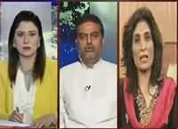 Tonight With Fareeha (Awami Tehreek Ka Lahore Mein Dharna) – 17th June 2016