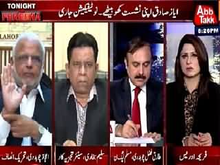 Tonight With Fareeha (Ayaz Sadiq De-Seated, Notification Issued) – 24th August 2015