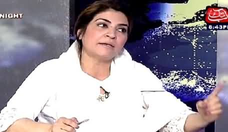 Tonight With Fareeha (Does Tanveer Zamani Want Cheap Publicity?) – 1st July 2015
