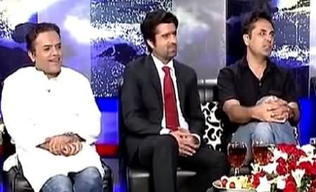 Tonight With Fareeha (Eid Special with Kashif Abbasi, Talat Hussain & Others) – 20th July 2015