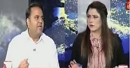 Tonight With Fareeha (Fawad Chaudhry Exclusive Interview) – 4th October 2018