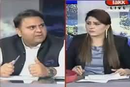 Tonight With Fareeha (Fawad Chaudhry Exclusive Interview) – 4th September 2018