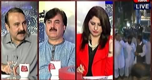 Tonight With Fareeha (Jamaat-e-Islami's Allegation of Rigging on MQM) – 29th April 2015