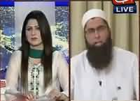 Tonight With Fareeha (Junaid Jamshaid Exclusive Interview) – 12th August 2016
