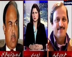 Tonight With Fareeha (NA-122 Verdict: Ayaz Sadiq Out) – 22nd August 2015