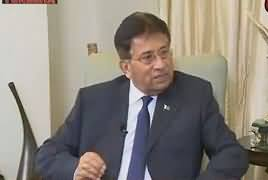 Tonight With Fareeha (Pervez Musharraf Exclusive) – 10th July 2017 (11PM To 12AM)
