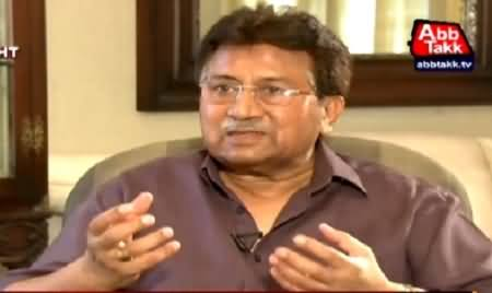 Tonight With Fareeha (Pervez Musharraf Exclusive Interview) – 5th May 2015