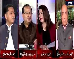 Tonight With Fareeha (PTI May Be Kicked Out From Parliament) – 28th July 2015