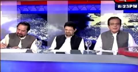 Tonight With Fareeha (Role of Establishment Behind Sit-ins) – 31st July 2015