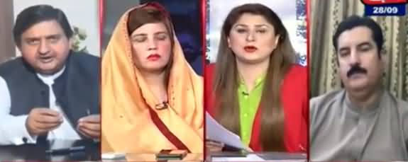Tonight With Fareeha (Shahbaz Sharif Case in UK, What Is Real Story) - 28th September 2021