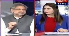 Tonight With Fareeha (Shahid Khaqan Abbasi Interview) – 26th April 2019