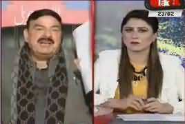 Tonight With Fareeha (Sheikh Rasheed Ahmad Exclusive Interview) – 23rd February 2018