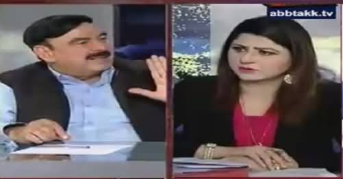 Tonight With Fareeha (Sheikh Rasheed Ahmad Exclusive Interview) – 7th June 2016