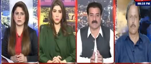Tonight With Fareeha (Tensions in Civil Military Relations) - 12th October 2021