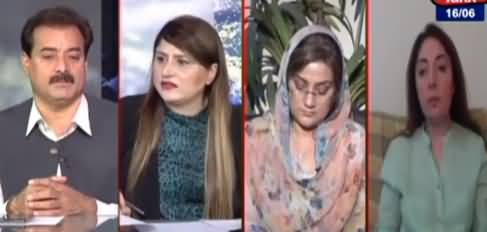 Tonight with Fereeha (Assembly Mein Hungama Arai) - 16th June 2021