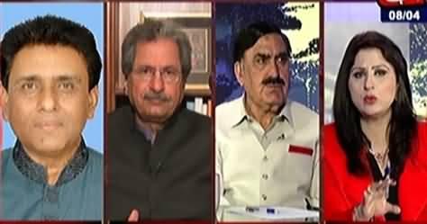 Tonight With Fereeha (Karachi Mein PTI Aur MQM Ka Muqabla) – 8th April 2015