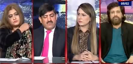 Tonight with Fereeha (Pakistani Nation Stands With Kashmiris) - 5th February 2021
