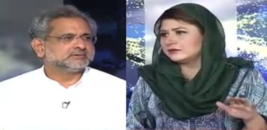 Tonight with Fereeha (Shahid Khaqan Abbasi Exclusive Interview) - 3rd May 2021
