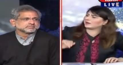 Tonight with Fereeha (Shahid Khaqan Abbasi Interview) - 16th November 2020