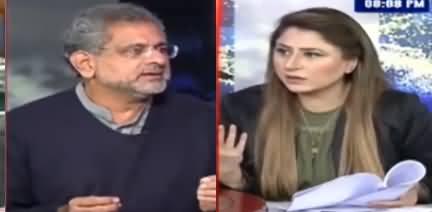 Tonight With Fereeha (Shahid Khaqan Abbasi Interview) - 18th January 2021