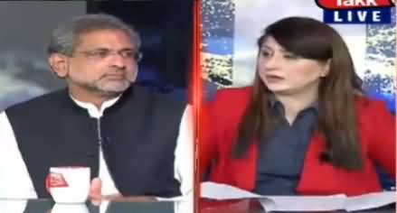 Tonight with Fereeha (Shahid Khaqan Abbasi Interview) - 19th October 2020