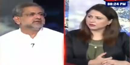 Tonight with Fereeha (Shahid Khaqan Abbasi Interview) - 8th September 2020