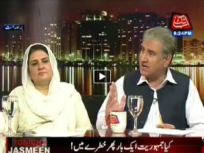 Tonight With Jasmeen (11th May Protest, Risk For Democracy?) - 6th May 2014