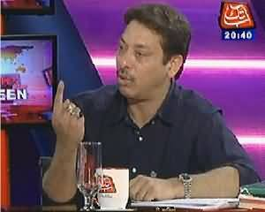 Tonight With Jasmeen (Faisal Raza Abidi Exclusive Interview) - 27th March 2014