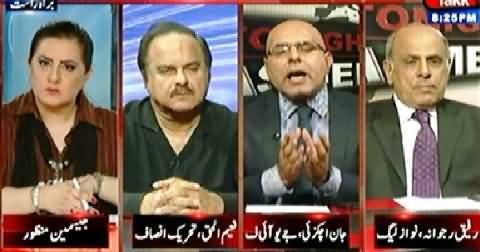 Tonight With Jasmeen (Govt, Army and Media, What is Going on?) - 22nd May 2014