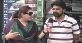 Tonight with Jasmeen (Karachi Ki Awam Kis Ko Vote De Gi) – 12th July 2018