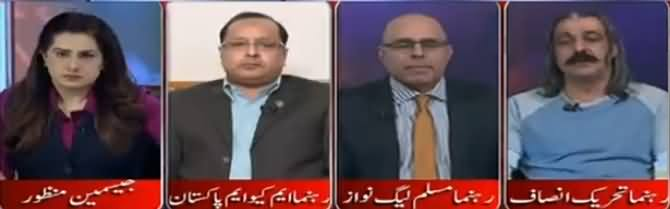 Tonight With Jasmeen (Military Courts) - 8th March 2017