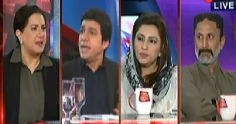 Tonight With Jasmeen (Military Leadership Unhappy with Sindh Govt) – 18th February 2015