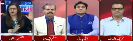 Tonight With Jasmeen (Nawaz Sharif Criticism on Imran Khan) – 10th April 2018