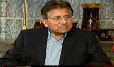 Tonight With Jasmeen (Pervez Musharraf Exclusive Interview) - 9th February 2015