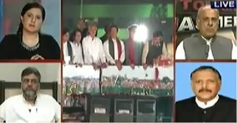 Tonight With Jasmeen (PMLN Govt Under Severe Pressure) 9PM To 10PM - 27th August 2014