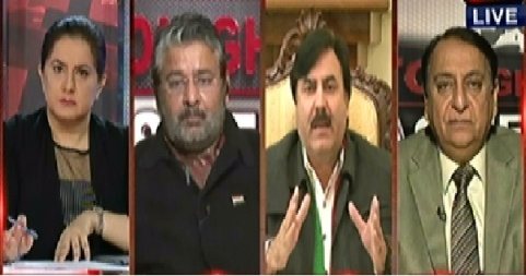 Tonight With Jasmeen (PTI and PAT Announce to Start Protest) - 14th January 2015