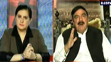 Tonight With Jasmeen (Sheikh Rasheed Ahmad Exclusive Interview) - 24th September 2014