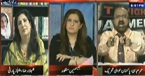 Tonight With Jasmeen (Tahir ul Qadri Maidan Mein, Kya Hoga?) - 30th April 2014