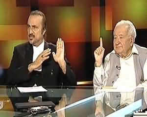 Tonight With Moeed Pirzada - 7th August 2013 (Kalabagh Dam Kyun Zarori Hai...??)