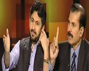 Tonight With Moeed Pirzada - 8th August 2013 (Kya Koi Aur Indo-Pak Relation Kharab Karna Chahta Hai)