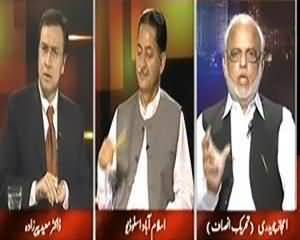 Tonight With Moeed Pirzada (Baldiati Intikhabaat Jamati Ya Gair Jamati Buniyadon Par) – 25th September 2013