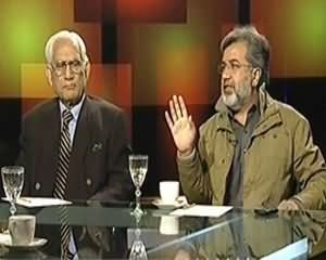 Tonight With Moeed Pirzada (Daur e Iftikhar Ka Khatima, Daur e Jillani Ka Aghaz) - 12th December 2013